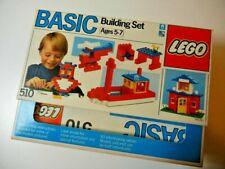 LEGO 510 Basic Building Set Vintage New in Sealed Box