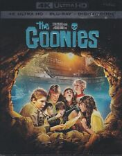 THE GOONIES 4K ULTRA HD & BLURAY & DIGITAL SET with Josh Brolin & Corey Feldman
