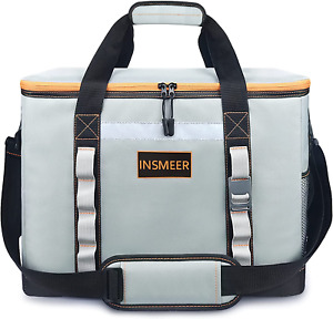 Large Cooler Bag 65 Can Leakproof/Insulated/Collapsible/Easy to Clean,