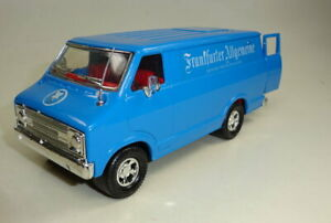"""Matchbox Superking K-11 Dode Van blue """"Frankfurter Allgemeine"""" german issue"""
