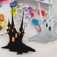 Halloween Castle House Metal Cutting Dies Stencil DIY Scrapbooking Paper Cards