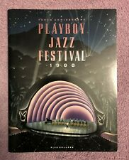 HUGH HEFNER COPY - w/ HEF BOOKPLATE - PLAYBOY JAZZ FESTIVAL PROGRAM (1988) RARE