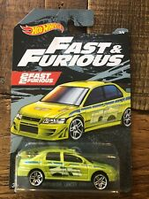 Hot Wheels 2019 Fast And Furious Mitsubishi Lancer Evolution Walmart Exclusive