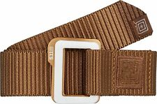 5.11 Traverse Double Buckle Belt-Battle Brown- small/2xl