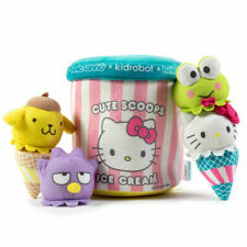 Kidrobot Hello Kitty Sanrio Ice Cream Cute Scoops Medium Plush