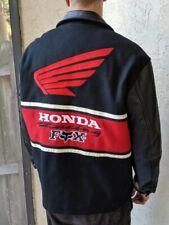 Honda Fox Racing Wool/Leather Coat - Mens XL - Vintage 90's