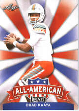 2017 Leaf Draft Football All-American #AA-02 Brad Kaaya
