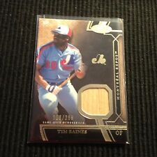 2015 TOPPS TIER ONE TIM RAINES *GAME USED BAT #158/299*  MONTREAL EXPOS