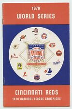 1970 World Series Cincinnati Reds Media Guide - NM/MT