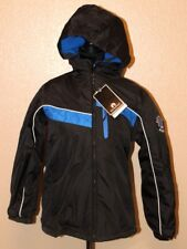 WEATHERPROOF WINTER JACKET SUPER WARM SIZE L 14/16 BLACK / BLUE MSRP $ 70.00