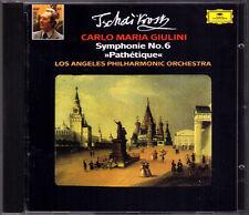Carlo Maria GIULINI: TCHAIKOVSKY Symphony No.6 Pathetique DG CD Los Angeles Phil