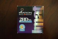 Imation 2HD Diskettes IBM Formatted 1.44 MB New Sealed Box of 25 Brand new