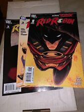 Red Robin Comics #1-3 Lot Batman Reborn DC Comics