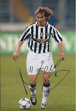 Pavel NEDVED SIGNED Autograph 12x8 Photo AFTAL COA Juventus Genuine RARE