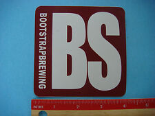 Beer STICKER ~ BOOT STRAP Brewing ~ Niwot (Boulder Co.), COLORADO Craft Brewery