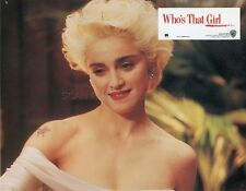 MADONNA WHO'S THAT GIRL  1987 6 PHOTOS ORIGINALES FRENCH VINTAGE LOBBYCARDS RARE