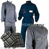 Delta Plus Panoply M6COM Mens Work Overalls Boiler Suit Coveralls +FREE Knee Pad