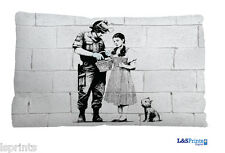 """Banksy Dorothy Design Small Scatter Cushion Decorative Bed Pillow Gift 11 X 9"""""""