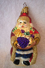 New listing Bountiful Santa,1998,Special Event,E.M.Merck,Old World Christmas,Inge-Glas,Lmtd