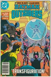 Batman and The Outsiders #30 Newsstand Edition VF 8.0 Alan Davis art 1986