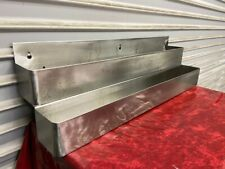 32 Double Speed Rail Bottle Storage Rack Stainless Steel Back Bar Storage 6279