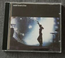 Sade, lovers live, CD