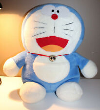"Doraemon Fujiko Pro 42cm 16.5"" Tall Japanese Anime Plush House Real Bell Japan"