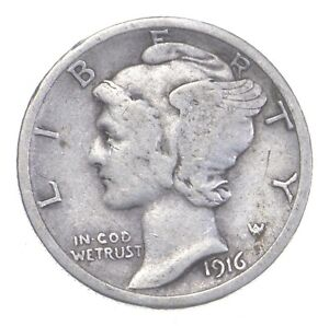Better 1916-S - US Mercury 90% Silver Dime Coin Collection Lot Set Break *213