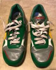 Voltron Reebok ERS Racer Shoes Sneakers Green Energy Return System size 8