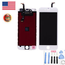 White LCD Display Touch Screen Digitizer Framed Assembly For iPhone 6 Plus 5.5''