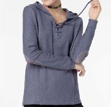 ROXY Women's PEARLING PONCHO Sweater - BPT0 - Medium - NWT