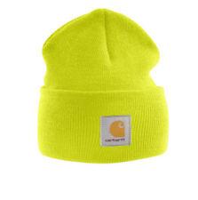 CARHARTT A18 WATCH HAT - Knit Beanie Cap - OSFA - ALL COLORS Black Blue Orange