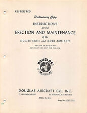 SBD-5/A-24B Erection and Maintenance Inst's Flight Manual -CD Version-