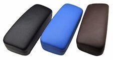 Lot 100 Nice Hard eyeglass optical cases C-15 blue brown black large sale bulk