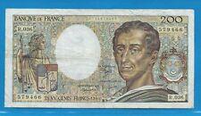 R.036      200 Francs MONTESQUIEU  de 1985
