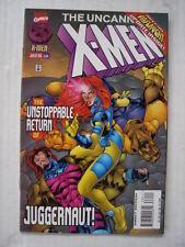 X-MEN UNCANNY #334 MARVEL COMIC ONSLAUGHT APPS JULY 1996