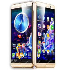 "5"" Quad Core 3G Mobile Phone Unlocked Dual SIM QHD Smartphone Android 5.1 GPS"