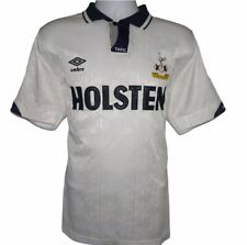 1991-1993 Tottenham Hotspur Home Football Shirt, Umbro, Large (Very Good)