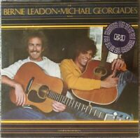 "THE BERNIE LEADON-MICHAEL GEORGIADES BAND  ""Natural Progressions""  1977 PROMO LP"