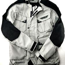 Fly Racing Patrol Jacket Grey//Black Adult Small Off-road//MX//Motocross 366-680S