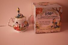 150th Anniversary Alice in Wonderland Paul Cardew Tea Pot with box