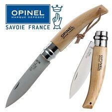 KNIFE OPINEL N 8 COLTELLO DA GIARDINO LAVORO CAMPO CACCIA PESCA SURVIVOR FOLDING