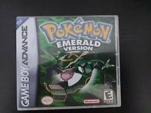 Nintendo Pokemon Emerald Gameboy Advance Genuine Cart