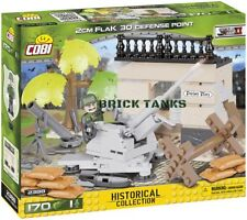 2cm Flak 30 (deployed) - COBI 2388 - 170 brick anti-aircraft gun