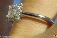 White Gold SI1 14k 0.75 - 0.99 Diamond Engagement Rings