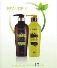 2Pcs Shampoo Scalp&Hybeauty Vitalizing Hair and Conditioner herbal Natural