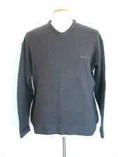 90's GIORGIO ARMANI JUMPER..SPELL OUT ERA..XL..MADE IN ITLAY..WOOL BLEND..90's