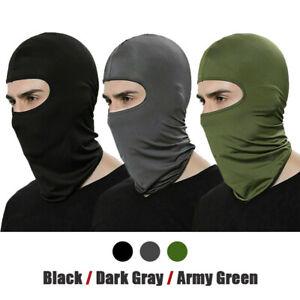 3 Pack Tactical Balaclava Thin Full Face Mask Lightweight Motorcycle Warmer Ski