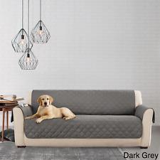 Sure Fit Microfiber Pet Sofa Throw Non-Skid  DARK GREY  Waterproff