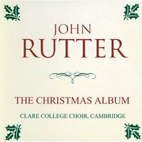 Cambridge Clare College Choir A Classic Christmas with John Rutter New Audio CD
